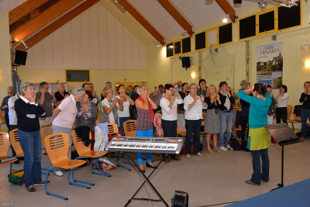Harmonia octobre 2013 - WE choral à Dinard (manoir de la Vicomté)