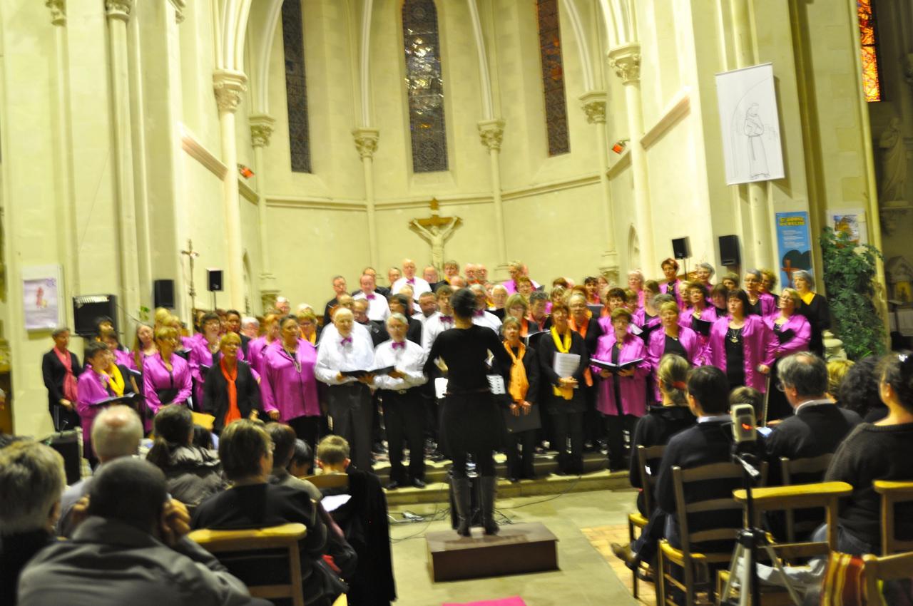 Harmonia mars 2012 - Concert à Ecouflant