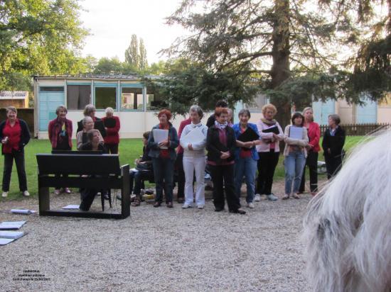 Répétition publique à St Pavace le 23/06/2011