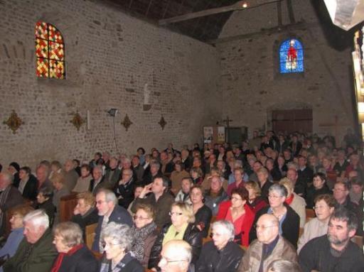 Saint Pavace le 16 janvier 2011, concert du nouvel an