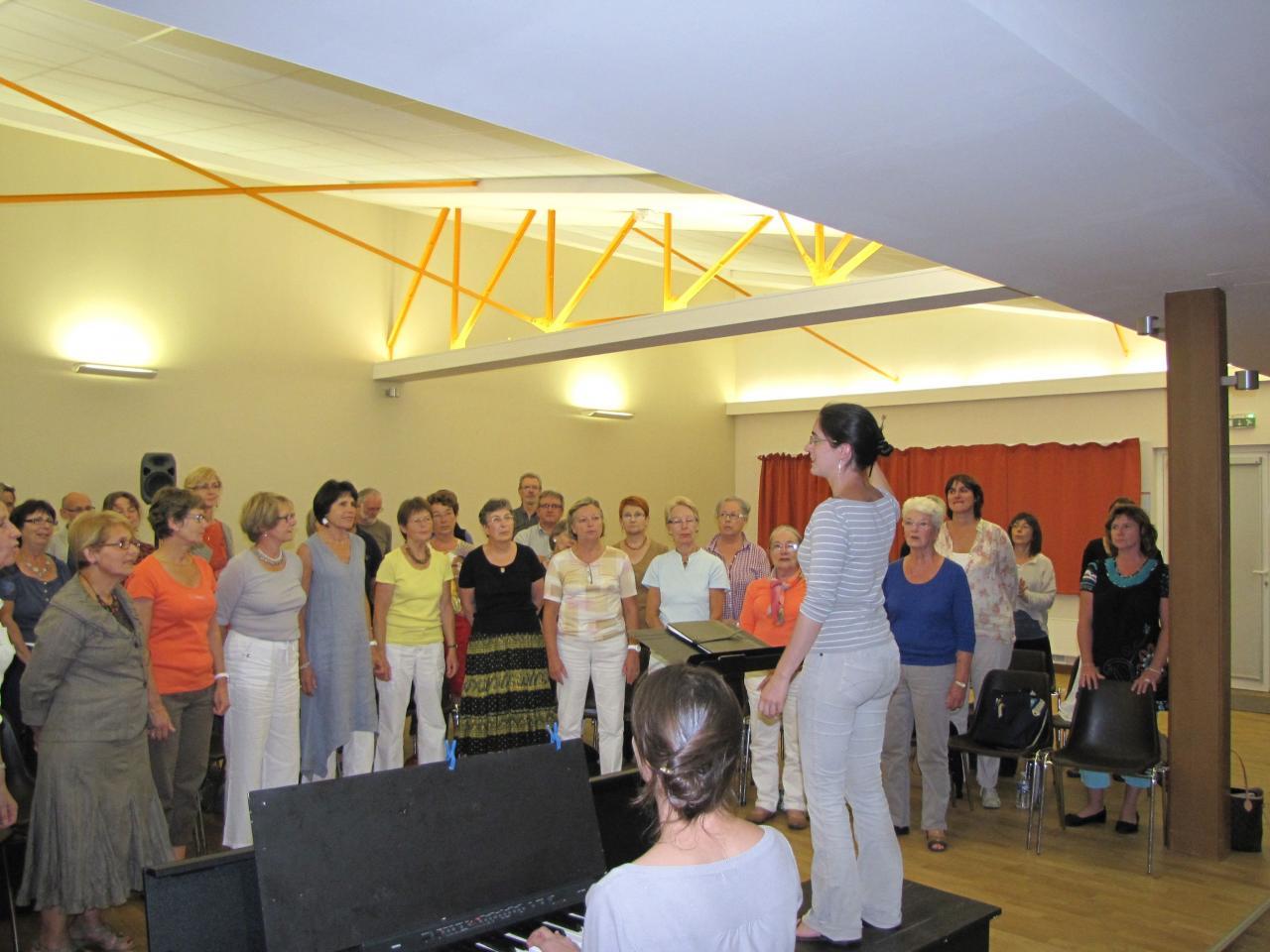 Harmonia septembre 2012 - Saint Pavace (Salle Touraine)
