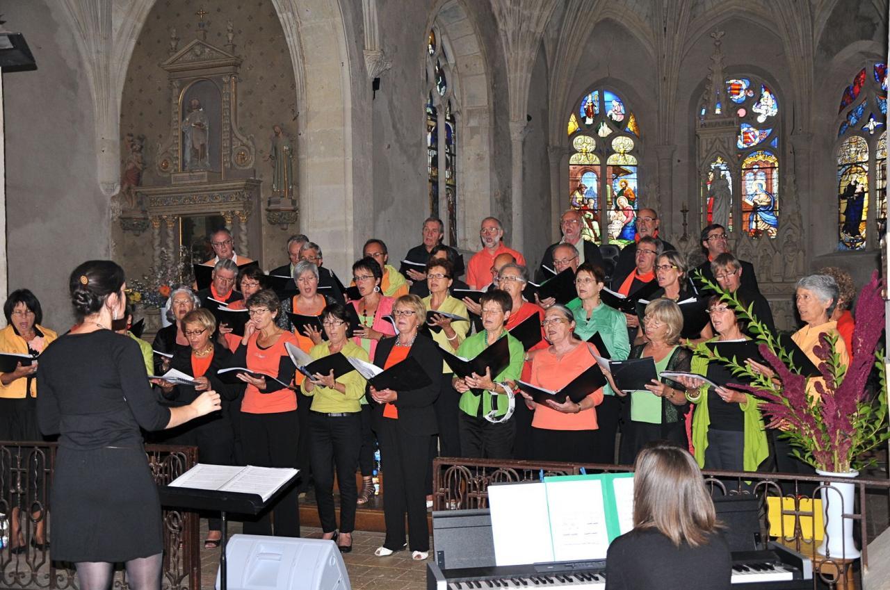 Harmonia septembre 2012 - Concert à Torcé-en-Vallée