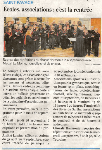 2019 08 31 st pavace rentre e association chorale harmonia