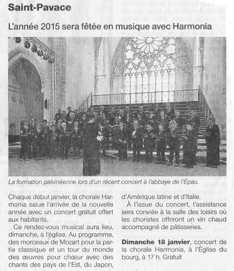 Concert 2015 of