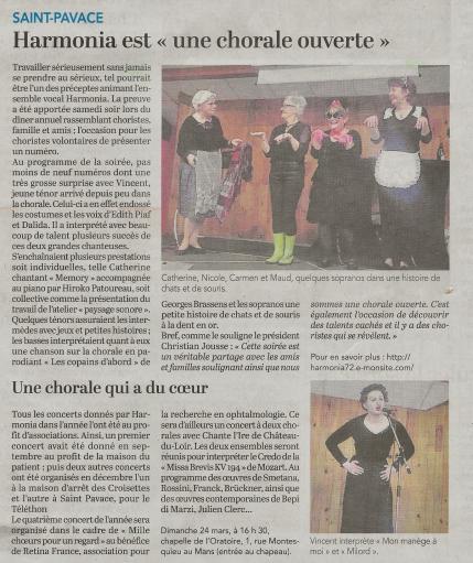 Harmonia soiree cabaret