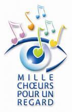 Logo mille choeurs pour un regard
