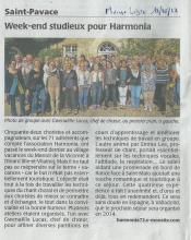 WE choral 2013 à Dinard